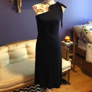 NWT 👗One Shoulder Navy Blue Beautiful Dress!